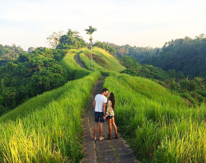 Campuhan Ridge Walk in Bali honeymoon